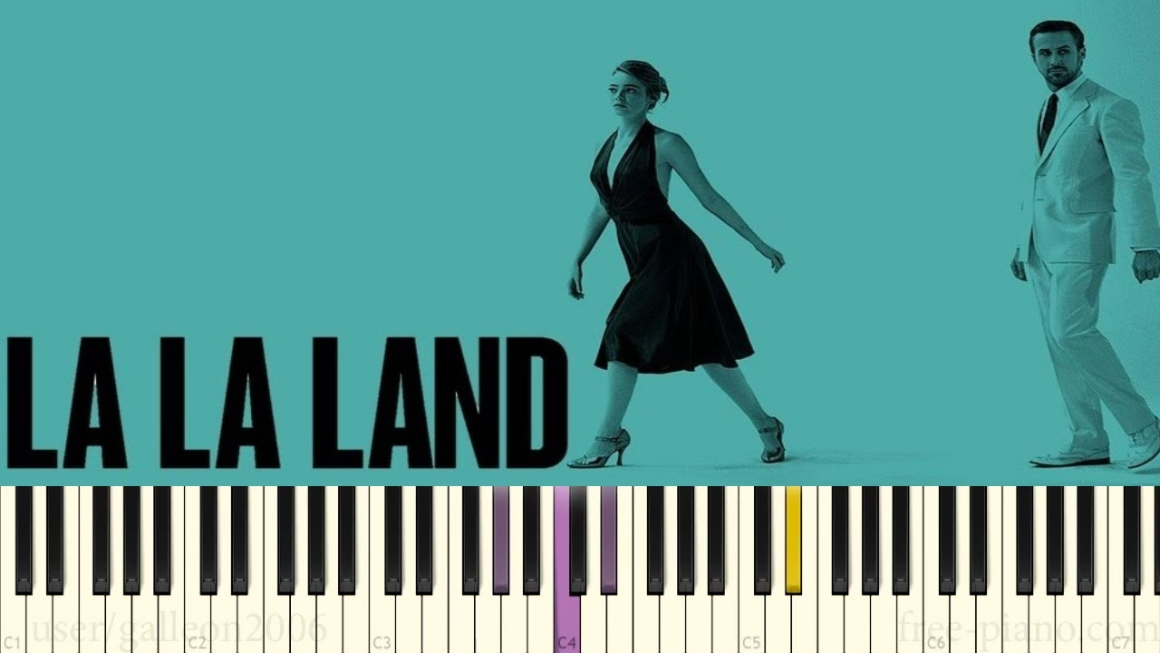 la la land ost another day of sun piano tutorial youtube. Black Bedroom Furniture Sets. Home Design Ideas