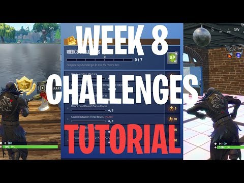 All Dance Floor And In-Between 3 Boats Location (Fortnite: Battle Royale Tutorial)