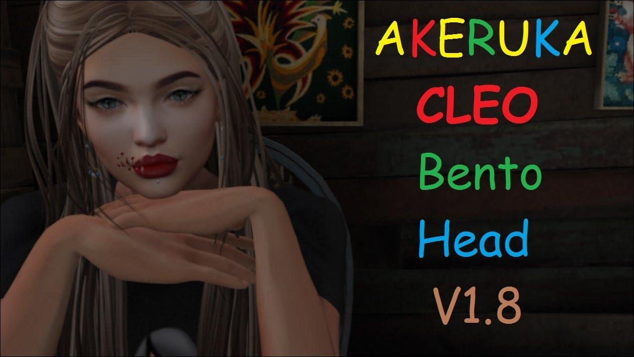 Akeruka Cleo Female bento head
