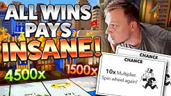 Monopoly Live INSANE Multiplier Rolls - SUPER BIG WIN!!!