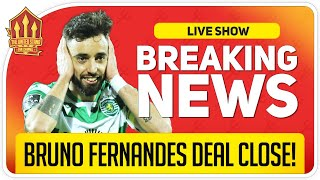 Bruno Fernandes Transfer Close! Man Utd Transfer News