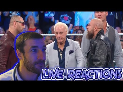 All The Legends...So Many Legends! WWE Smackdown 1000 - Live Reactions