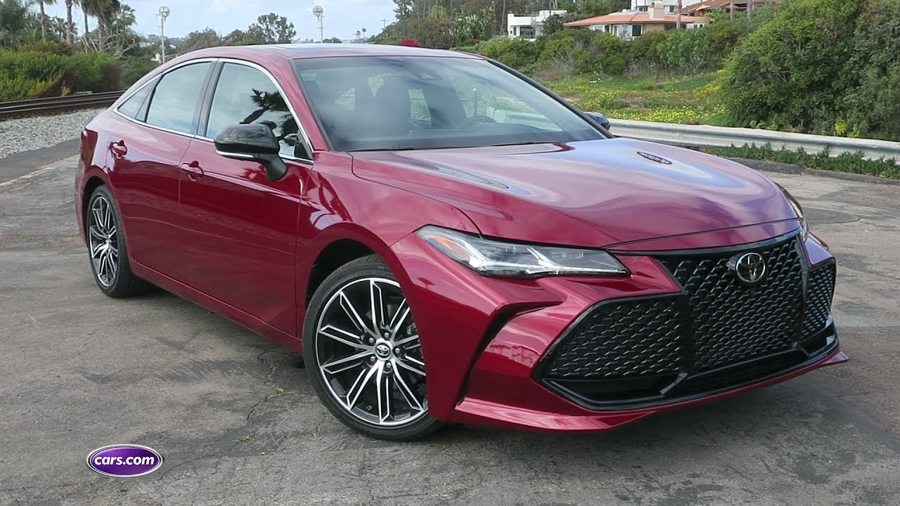 2019 Toyota Avalon First Drive Review Cars Com