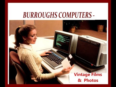 1963 Burroughs Computer History Archives Project, Datatron, ElectroData, B5000, B270 UNISYS
