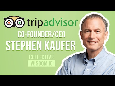 Founder Dialogues: TripAdvisor Co-founder/CEO Stephen Kaufer