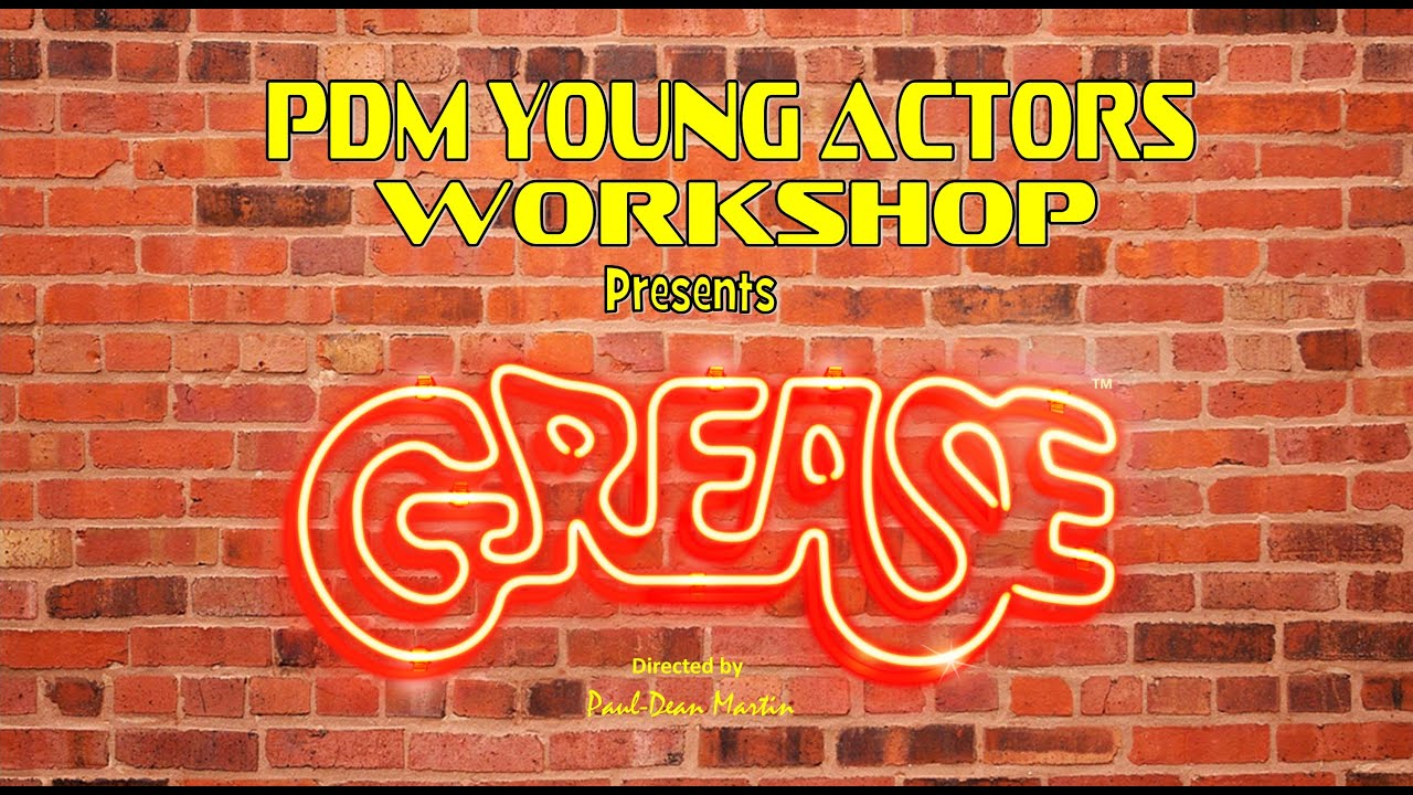 PDM Young Actors Workshop GREASE TEASER PROMO 2020