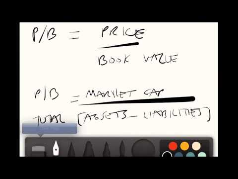 Stock Market Quick Tips #2: P/B Ratio