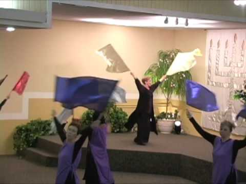 praise worship flags clips youtube