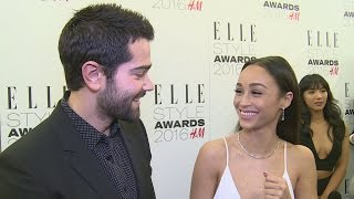 ELLE Style Awards 2016: Jesse Metcalfe and Cara Santana talk clotted cream and avoiding trends