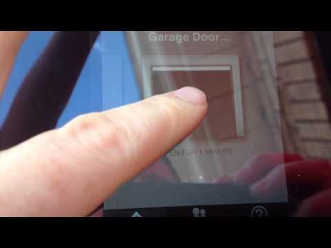 Iphone garage door app for the n3rd doovi for App to open garage door