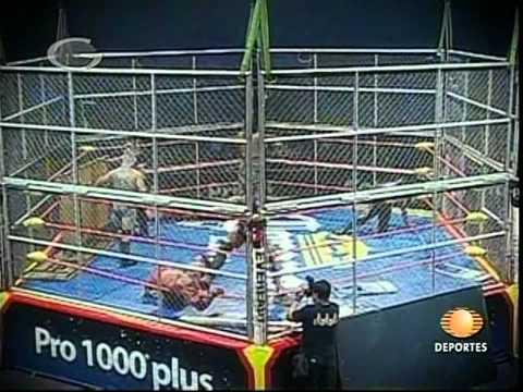 Gronda (II), Decnnis, Elegido vs. Gronda XXX, Nicho el Millonario, Joe Líder, 2009/09/26 [cage]