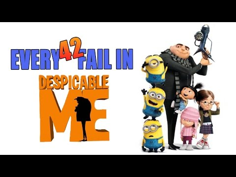 Every Fail In Despicable Me | Everything Wrong With Despicable Me, Mistakes and Goofs