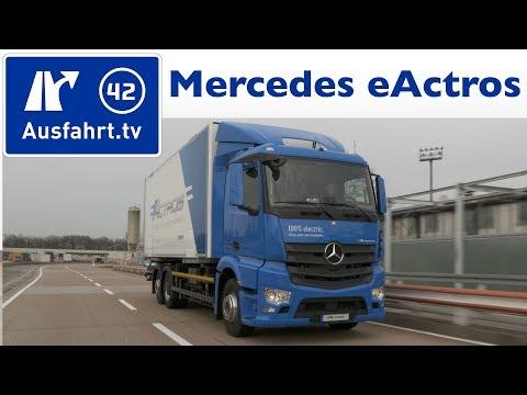 2018 Mercedes-Benz eActros Weltpremiere und Mitfahrt