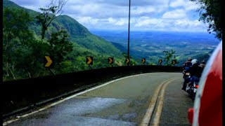 🔥Subida Serra do Rio do Rastro | COMPLETA [CB 500F]