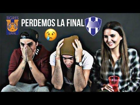 Monterrey 1 - 2 Tigres | Reacciones de Amigos | Final Vuelta Liga Mx Clausura 2017
