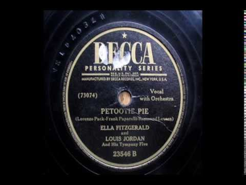 "Ella Fitzgerald and Louis Jordan_"" Petootie Pie "" (1946)"