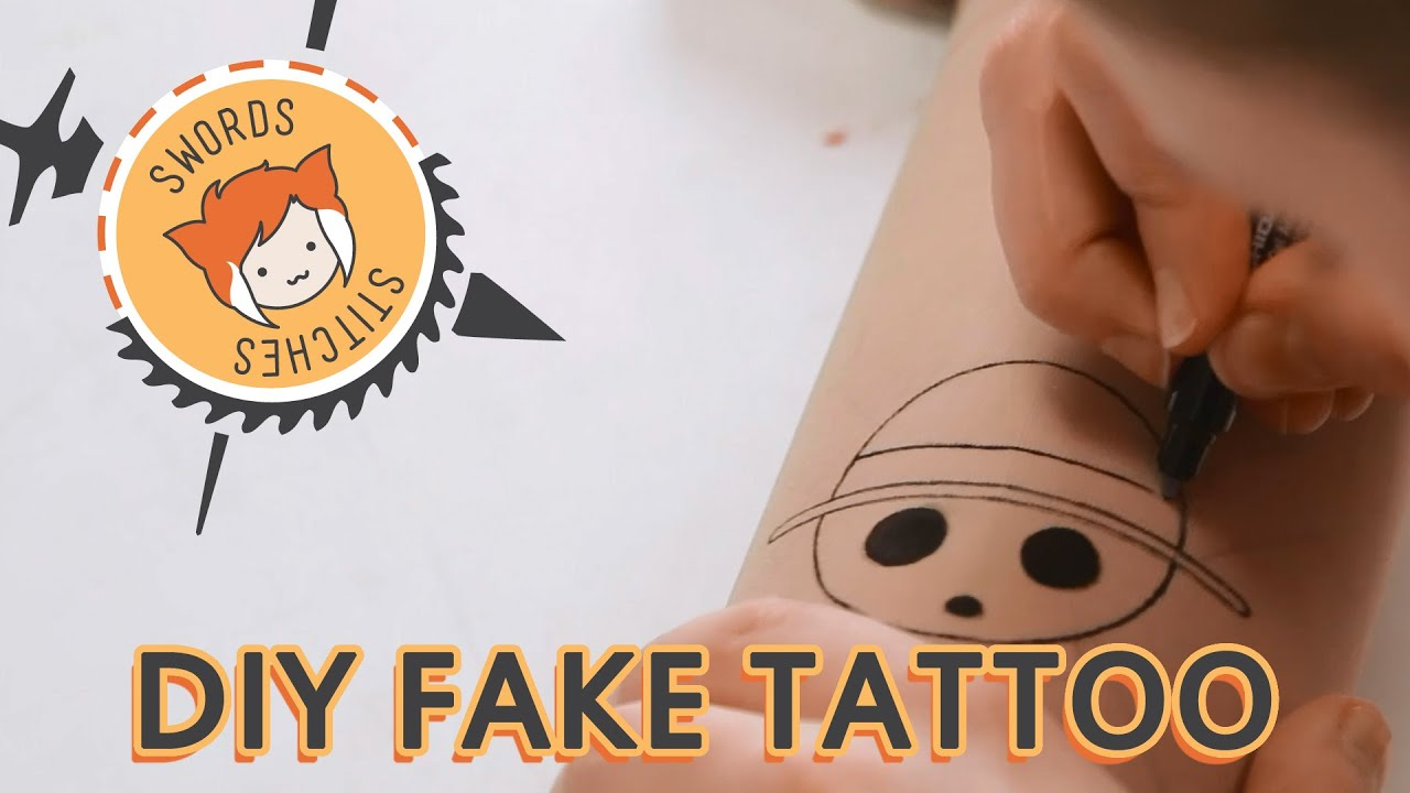 FAKE PIRATE TATTOOS [Swords & Stitches] - YouTube