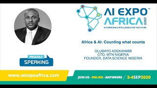 AI Expo Africa 2020: Africa and AI - Counting what counts