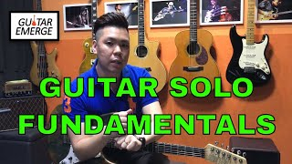 Guitar Emerge - Electric Guitar Tutorial - Guitar Solo Fundamentals