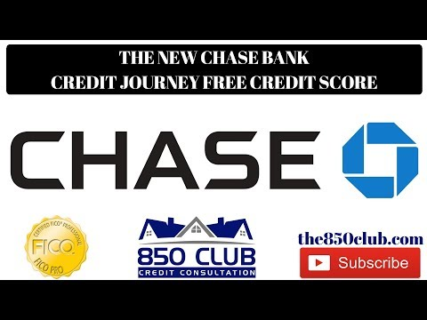 The New Chase Credit Journey Credit Score - What You Need To Know ASAP - 850 Club