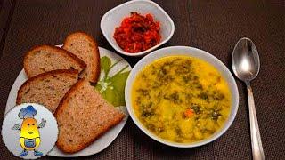 """Зеленый борщ """"По-польски"""" с щавелем и яйцом: вкусный рецепт"""