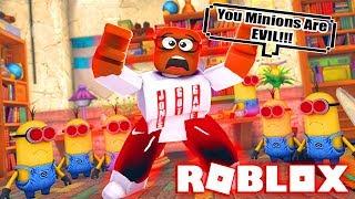 ¡LOS MINIONS SON EVIL! (Roblox Minion Adventure Obby) JUEGO COMPLETO