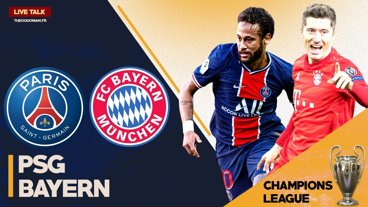 Match Live Direct Psg Bayern Paris Munich Finale Final 8 Champions League Youtube