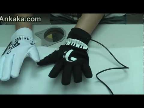 How to Use Electronic Piano Hand Gloves Exercise Instrument