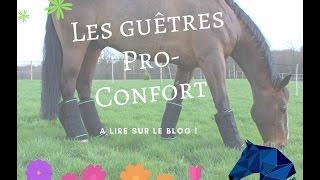 [Test] Les guêtres topaze by Pro-Confort