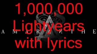 Amaranthe - 1,000,000 Lightyears [HIGH QUALITY] with lyrics