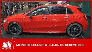 Salon de Genève 2018 - Mercedes Classe A : plus grande donc meilleure ?