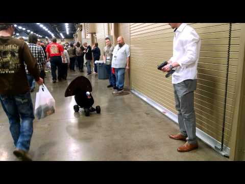 Turkey on wheels at the NWTF Convention 2015