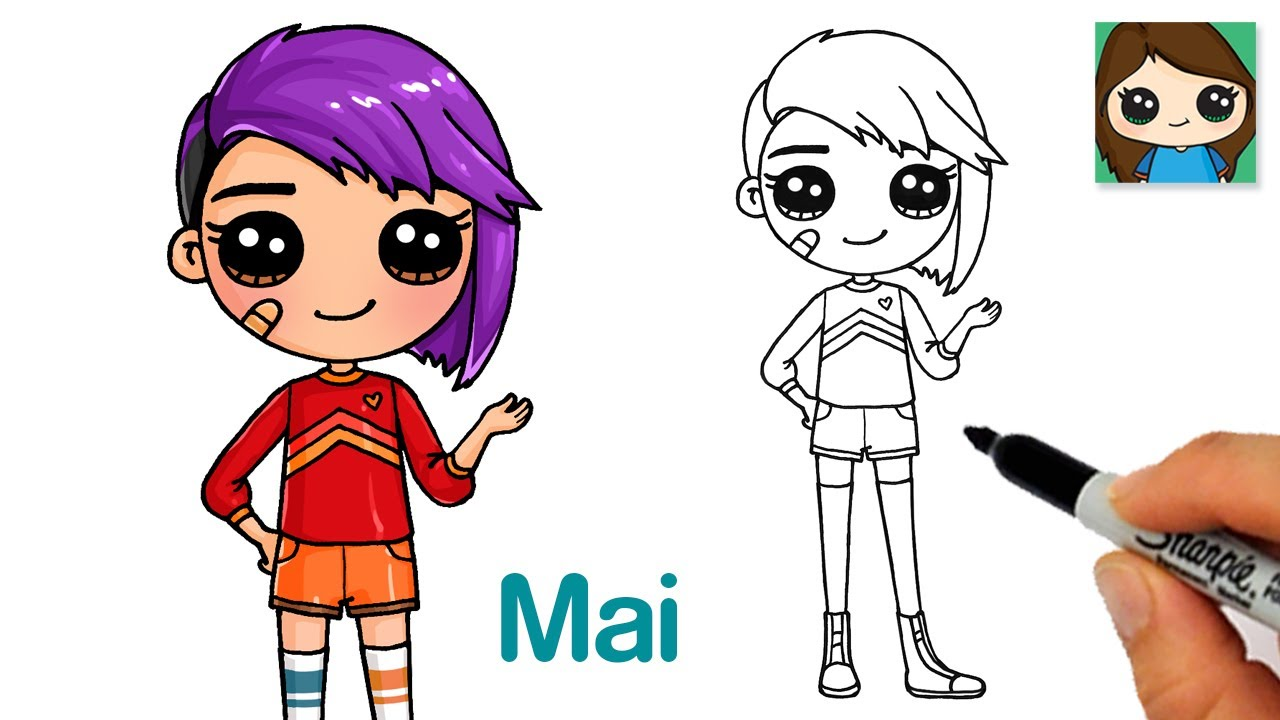 How to Draw Mai Su from Next Gen