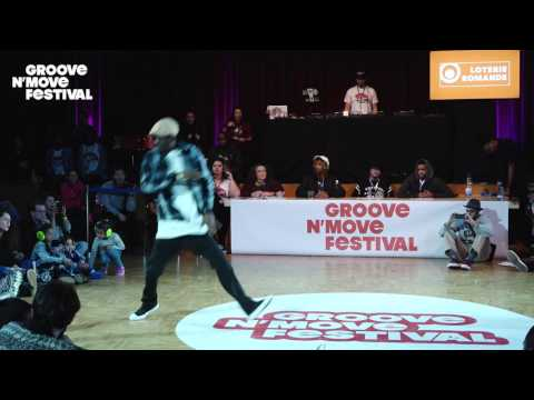 GROOVE'N'MOVE BATTLE 2017 -1/4 Final Popping - Poppin C vs Philboog