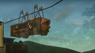 Planet Coaster #6 cable car 남산타워 케이블카