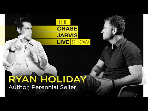Ryan Holiday: How to Create Work That Lasts | Chase Jarvis LIVE
