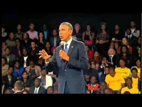 President Obama Comments on Democracy and Civil Society