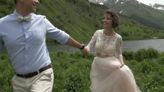 Свадьба Ивана и Елены, Домбай, июнь 2016