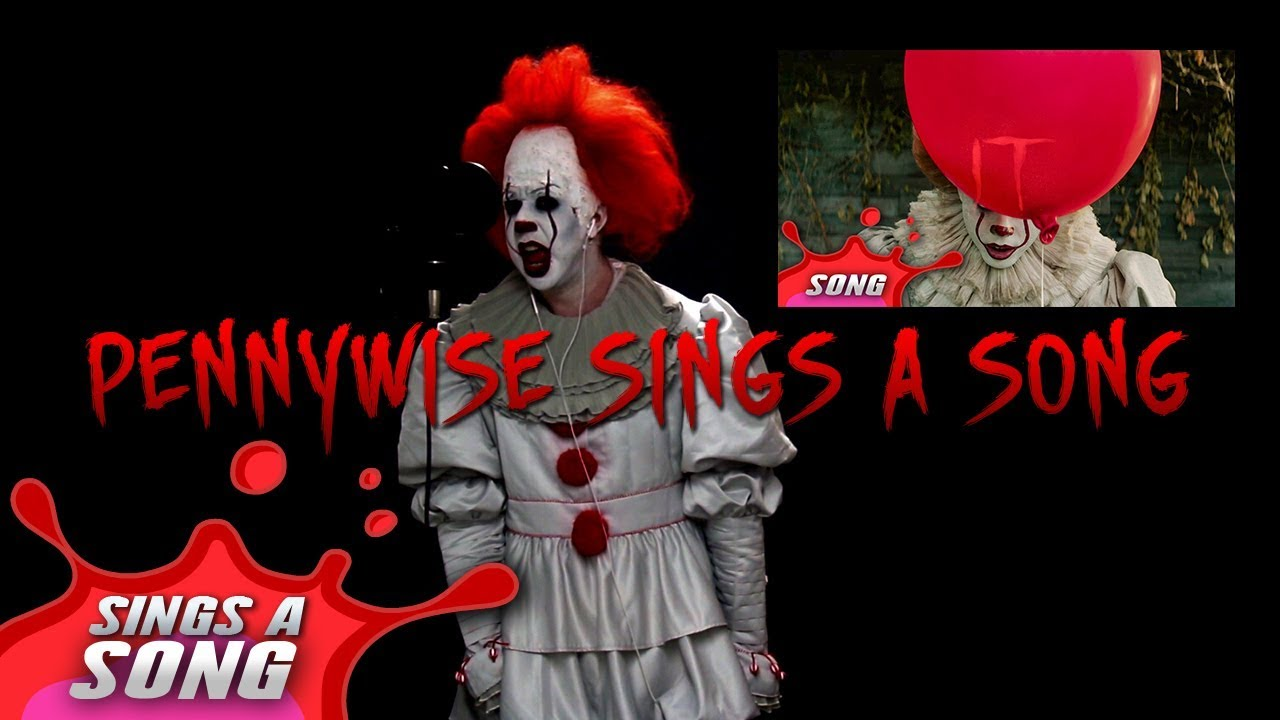 pennywise sings a song in real life one take recording youtube. Black Bedroom Furniture Sets. Home Design Ideas