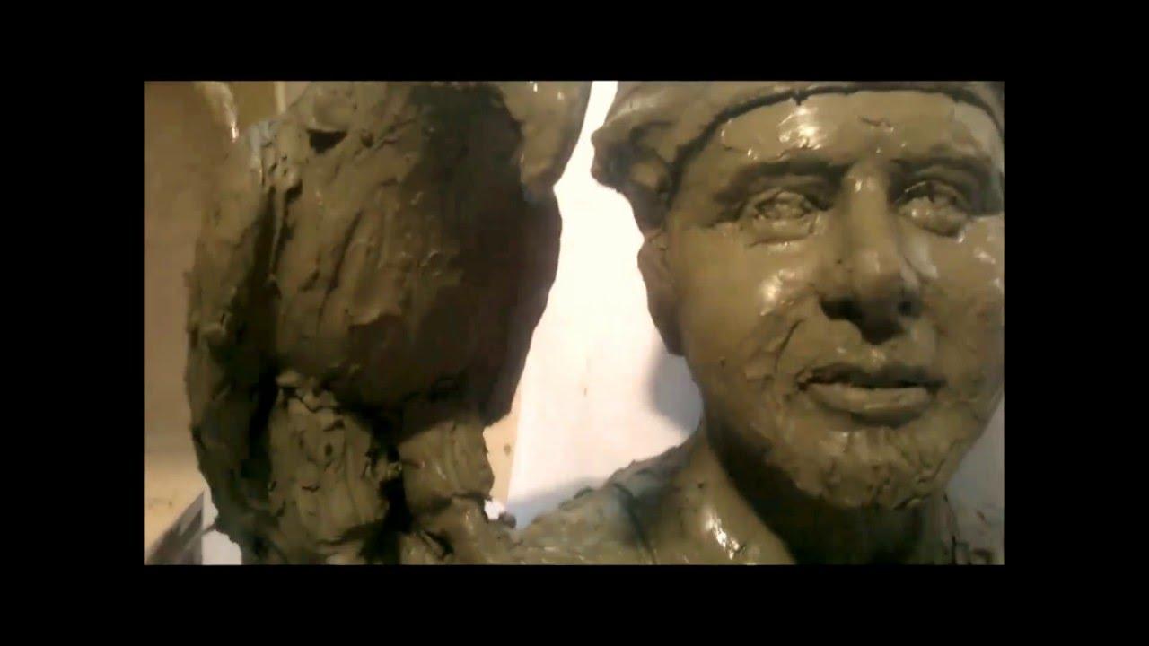 Super come realizzare un busto in Argilla parte 2 proporzioni  KR02