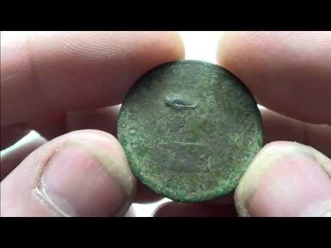 1820 Half Penny Bank Token   A Honey Hole Gem