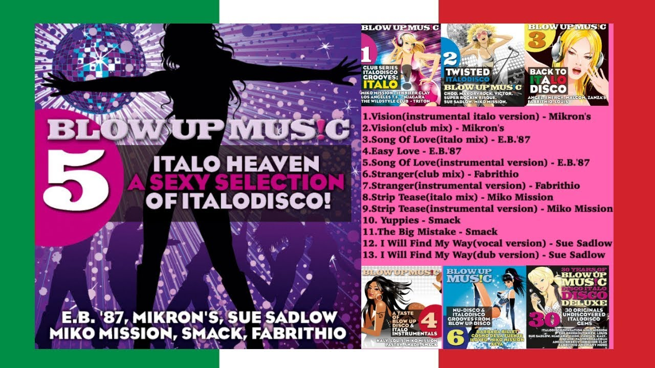 ITALO DISCO BEST OF VOL.5: Italo Heaven A Sexy Selection Of Italodisco