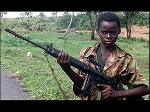 Kids with Guns ... Child Soldiers In Africa Statistics