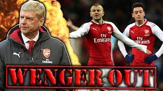 Have Mesut Ozil And Jack Wilshere Officially Turned On Wenger?! | W&L