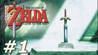 Zelda: A Link to the Past - The Adventure Begins! (Part 1)