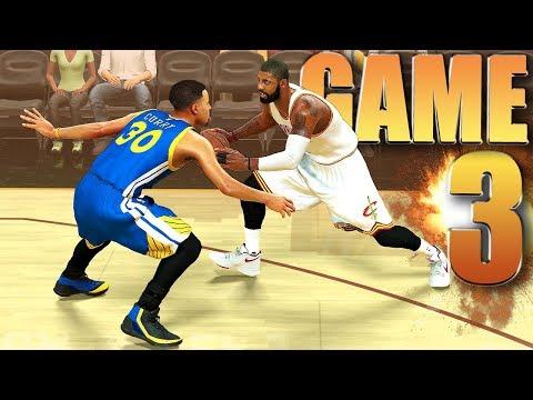 Cleveland Cavaliers vs Golden State Warriors Finals Game 3 - NBA 2K17 Prediction