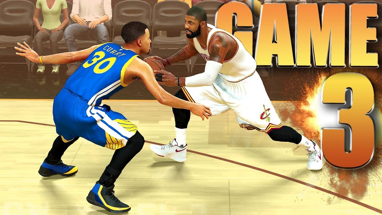 Cleveland Cavaliers vs Golden State Warriors Finals Game 3 - NBA 2K17 Prediction - YouTube