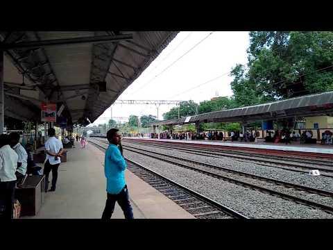 pune lonavala local Arriving At Talgaon Station