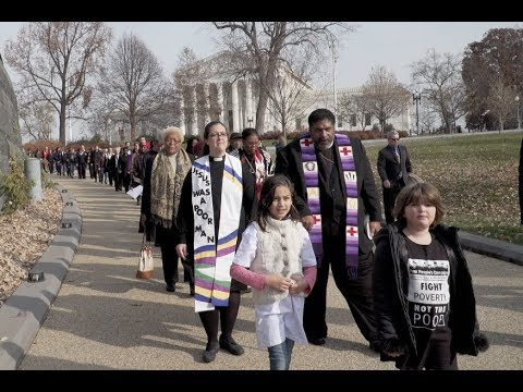 Poor, Disenfranchised, Clergy and Allies Launch Movement for Moral Revival in America
