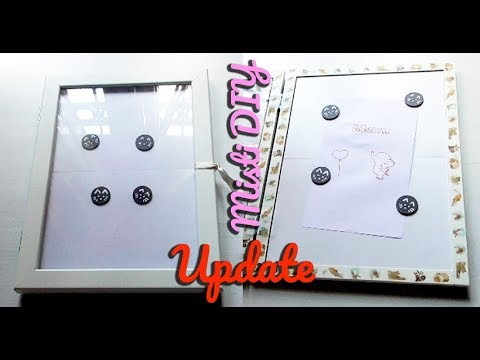 Update misti precision press diy con cornice ikea for Cornice 30x45 ikea